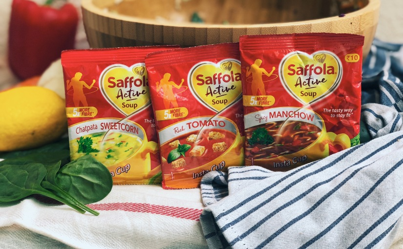 New way of staying fit with saffola activesoups.